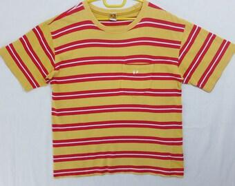 Vintage 80s Hang Ten Stripe Shirt