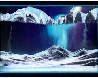 KB Collection Sand Art -- wall mount Movie series -- Aurora Borealis