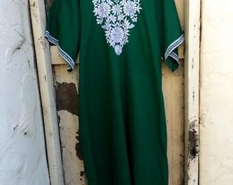 Emerald Gypsy Dress