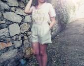 Custom order for Shay-lurex shorts