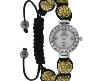 Crystal vintage Bracelet wrist watch