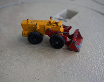 Vintage Lesney Matchbox Series 43 Aveling Barford Tractor Shovel