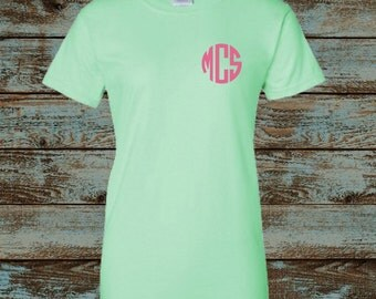 Monogrammed Shirt, Monogrammed outfit