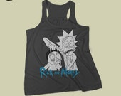 Rick and Morty tank top || T-Shirt Rick Sanchez  Morty Smith wubalubadubdub wubba lubba dub dub show me what you got free rick