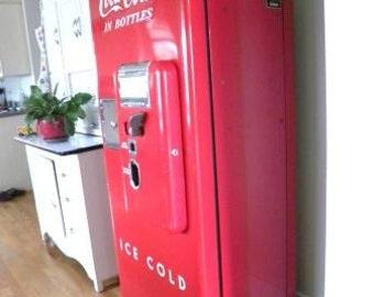 Cavalier C51 Coca Cola Vending Machine - SKU 1505