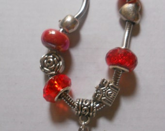 Fairy bracelet with charms