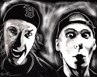 Dylan Klebold & Eric Harris portrait