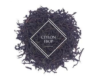 Pure Ceylon FBOP, Loose Leaf Tea, Black Tea