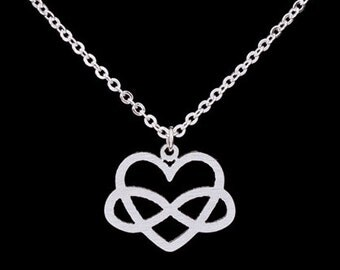 Infinite love, necklace, love chain, necklace, infinity