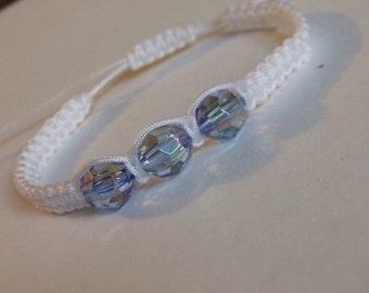 Sky bead bracelet