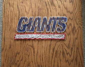 New York Giants String Art