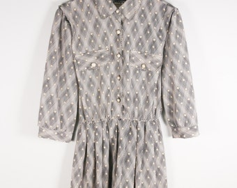 1980s Dot Dress