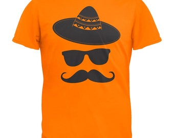 Cinco De Mayo - Mustache Sombrero T-Shirt