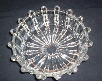 Antigue EAPG Broken Column Bowl U.S. Glass Co. ca 1893