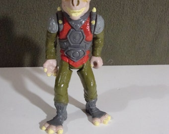 1992 Land of the Lost Nim Sleestak with Automatic Club Arm Vintage Action Figure Kroft Ent. Tiger Toys