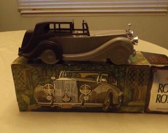 Vintage Avon Bottle Rolls Royce Deep Woods