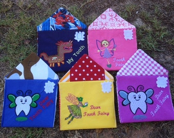 Tooth Fairy Envelopes, tooth, teeth, tooth fairy, girl, boy, personalised, custom, fairy