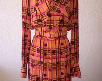 SAK'S PATTERNED DRESS