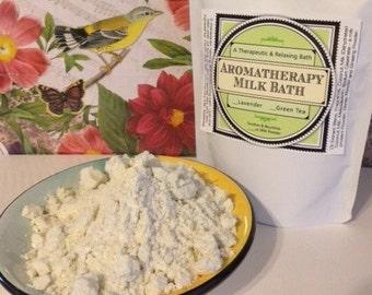 10 oz Milk Bath Soak: A Therapeutic & Rejuvenating Experience