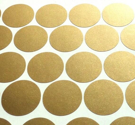 2 gold polka dots konfetti wandsticker gold polka dot - Wandsticker gold ...