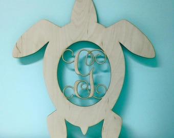 Laser Cut Unpainted Turtle