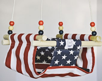 Toddler/Baby Swing: Special Edition Patriotic Swing