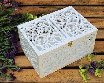 Wedding Gift Delivery Canada : wedding card box wedding gift plywood box love story keepsake box ...