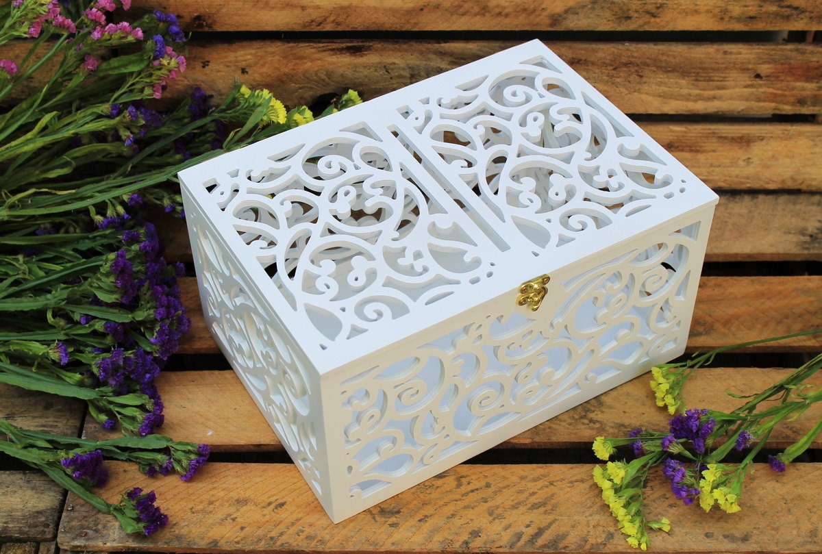 Wedding Gift Boxes: Wedding Card Box-Wedding Gift-Plywood Box-Love Story By