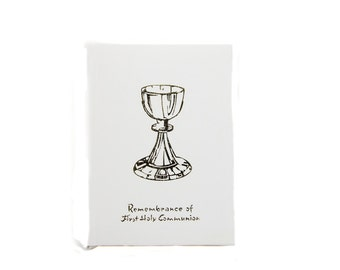 vintage remembrance of  first holy communion book