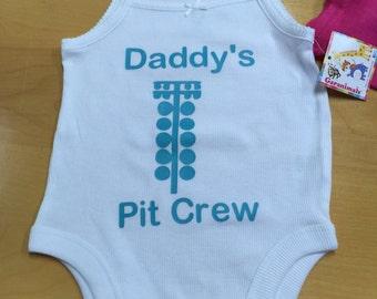Sleeveless Onezie Daddy's Pit Crew