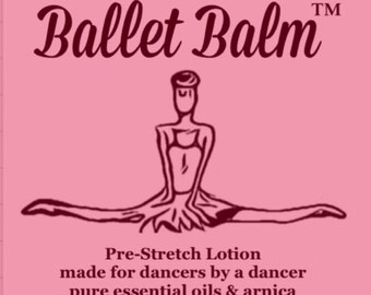 Ballet Balm Pre-Stretch Lotion with Arnica 4oz