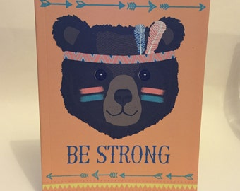 A5 Be Strong Notebook