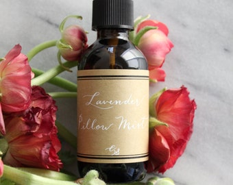 All Natural Pillow Mist / Linen Spray / Room Spray (Pick your own scent)