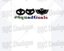 PJ Masks shirt, PJ mask shirt, superhero shirt, birthday shirt, boys birthday shirt, girls birthday shirt, squad goals shirt, hero shirt