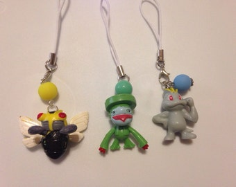 Pokemon Cell Phone Charms