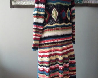 Crochet Gypsy Coat