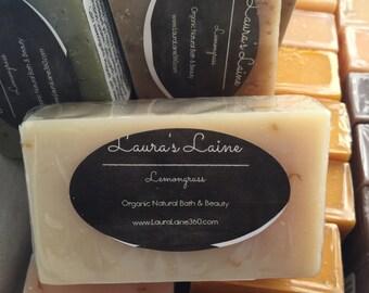 Lemongrass Grapefruit Organic Bar Soap