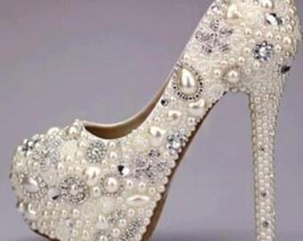 Unique wedding shoes Etsy