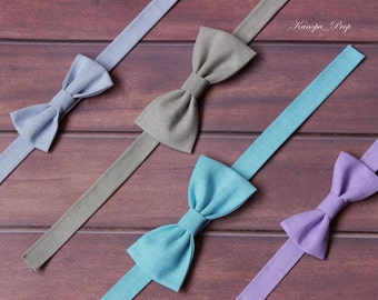 Newborn bow tie knit bow tie newborn boy bow tie photo prop boys newborn boy bow tie photography props baby boy