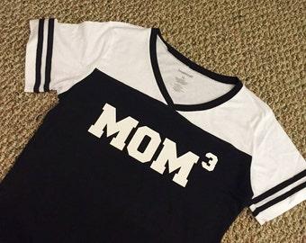 Mom squared tee