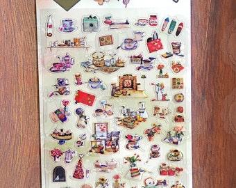 Daisyland Sticker - Afternoon Garden - DL1140