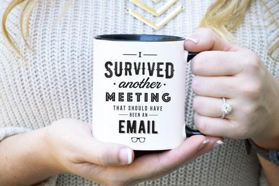 Funny work mug