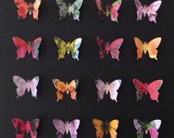 Floral Butterflies Small