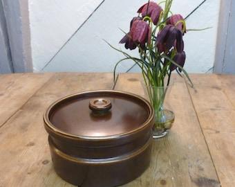 Wedgwood Casserole/Wedgwood 'Sterling' Casserole/Brown Glaze Wedgwood Stoneware Casserole, Perfect Condition!