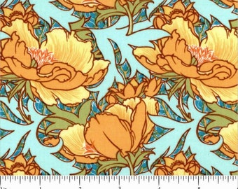 """Vintage Florals """"Flourish""""  Azure by Victoria and Albert from Westminster Fabrics"""