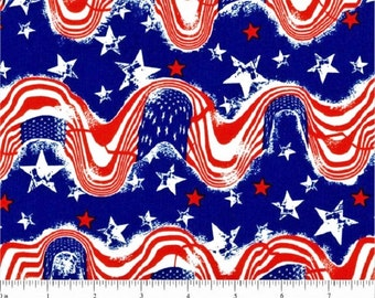 Santee Print Works   Patriotic Cotton Fabric