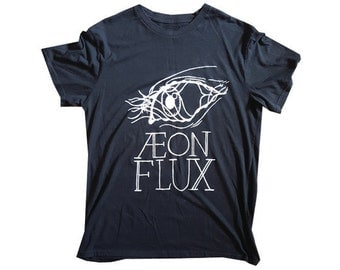 AEON FLUX Hand-Painted T-shirt
