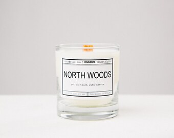 sensōrius co. NORTH WOODS soy candle