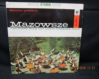 Mazowsze The Polish Song & Dance Company Vol 2 - Monitor Records