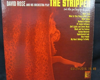 David Rose - The Stripper and Other Fun Songs for the Family - MGM Records